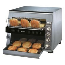 Star QCS3-1400BH Star QCS Conveyor Toaster, electric, 1400 slices/hr. bread & bagel toaster, horizontal conveyor, analog speed control, independent