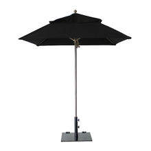 Grosfillex 98661731 Windmaster Umbrella, 6-1/2 ft., square top, 1-1/2