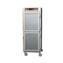 Metro C569-SDC-U C5 6 Series Heated Holding Cabinet, mobile, full height, insulated, Dutch double pane tempered glass doors, top mount controls