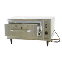 Eagle DWP-1R-120 Pass-Thru Heated Drawer, (1) drawer with handles, free standing, with stainless steel liner, holds standard full size/fractional