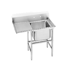 Advance Tabco 94-1-24-18L Regaline Sink, 1-compartment, with left-hand drainboard, 20