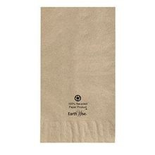 NAPKIN DINNER KRAFT 2-PLY 1/8 FOLD(1000) EARTHWISE 15X17