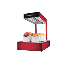 Hatco UGFFL-120-T-QS Ultra-Glo Portable French Fry Warmer, ceramic heater, complete station, with light, unheated base, built in