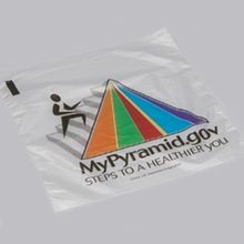 SANDWICH BAG 6-1/2 X7 PLASTIC PYRAMID SADDLE PACK (2000)