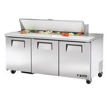TRUE TSSU-72-16-HC Sandwich/Salad Unit, (16) 1/6 size (4