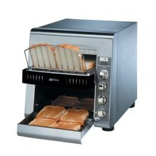 Star QCS2-500 Star QCS Conveyor Toaster, electric, 500 slices/hr., horizontal conveyor, analog speed, standby switch, independent controls for top