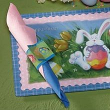 PLACEMAT EASTER COMBO WITH NAPKIN (250)
