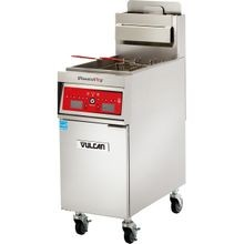 Vulcan 1VK45DF PowerFry5 Fryer, gas, high efficiency, 15-1/2