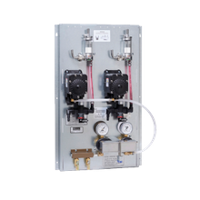 Perlick BPPKFC2 Dual Non-Locking Regulator, Flojet Beer Pump Panel, with coupler & factory installed FOB detector