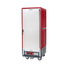 Metro C539-CFS-L C5 3 Series Heated Holding & Proofing Cabinet, with Red Insulation Armour, mobile, full height, insulated cabinet & door