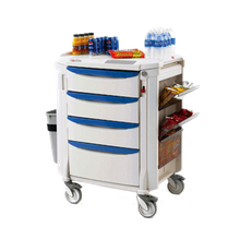 Metro FLMB1 Mini Bar Restocking Cart, high profile, with (3) 6