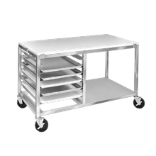 Channel MW245/P Bun Pan Rack, mobile, with work top, 48