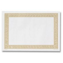 PLACEMAT GOLD GREEK KEY (1000)