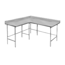Advance Tabco KTMS-247 Work Table, L-shaped, 84