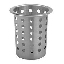 SILVERWARE CYLINDER S/S PERFORATED