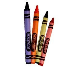 CRAYONS BULK RED, YELLOW, BLUE GREEN (3000)