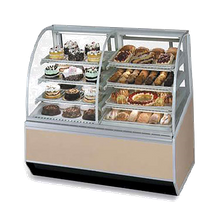 Federal SN77-3SC Series 90 Dual Bakery Case Refrigerated Left Non-Refrigerated Right, 77
