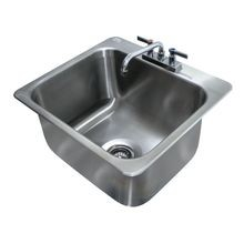 Advance Tabco DI-1-2012 Drop-In Sink, 1-compartment, 20