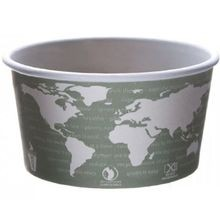 FOOD CONTAINER 12 OZ (500) RENEWABLE & COMPOSTABLE
