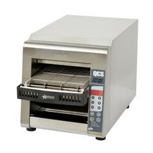Star QCSe2-500 Star QCS Conveyor Toaster, electric, 500 slices/hr., horizontal conveyor, programmable electronic controls for conveyor speed and top