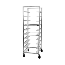 Channel OT-8 Oval Tray Rack, mobile, full height, single section, 25