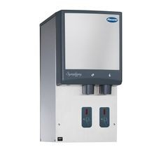 Follett 12HI425A-S0-00 Symphony Plus Ice & Water Dispenser, wall mount without drain pan, SensorSAFE dispense, integral ice machine, Chewblet