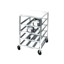 Channel CSR-3MP Can Storage Rack, half size, mobile, 25-3/4