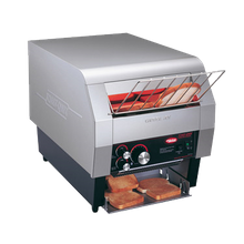Hatco TQ-400H Toast-Qwik Conveyor Toaster, horizontal conveyor, countertop design, all bread types toaster, approximately 6 slice capacity/min, 3