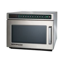 Menumaster MDC212 Commercial C-Max Microwave Oven, 2100 watts, 0.6 cu. ft capacity, compact, stackable, stainless steel interior & exterior