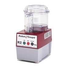 Robot Coupe R2B CLR Cutter/Mixer, 3 qt. polycarbonate bowl with handle & see-thru lid,