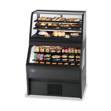 Federal CRR4828/RSS4SC Specialty Display Hybrid Merchandiser Refrigerated Self-Serve Bottom with Refrigerated Service Top, 48