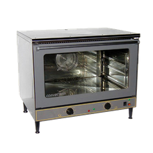 Equipex FC-100 Sodir Convection Oven, electric, countertop, single-deck, 570F thermostatic controls with 120 min. timer, 2 speed fan, (4) wire