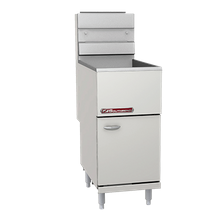 Southbend SB35S Economy Fryer, gas, floor model, 35-40 lb. capacity, thermostatic controls, standing pilot, includes: (2) wire mesh baskets, tube