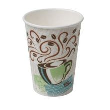 HOT CUP 12 OZ PERFECT TOUCH HAZE DESIGN (1000)