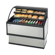 Federal LPRSS3 Specialty Display Low Profile Self-Serve Refrigerated Merchandiser, 36