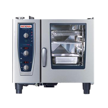 Rational B619206.19E202 (CMP 61NG 208/240V - Special Order Item) CombiMaster Plus, Combi Oven/Steamer, natural gas, (6) 12