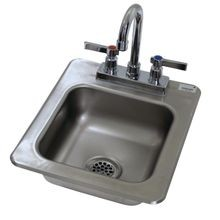 Advance Tabco DI-1-25 Drop-In Sink, 1-compartment, 9