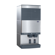 Follett 110CT425W-S Symphony Plus Ice & Water Dispenser, countertop, SensorSAFE dispense, removable top mounted ice machine, automatic load