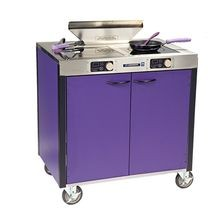Lakeside 2075A Creation Express Station Mobile Cooking Cart, 34