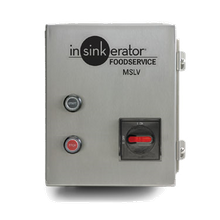 InSinkerator MSLV-9 Control Center, MSLV, manual switch (low voltage), for SS-50 to SS-200 disposers, 115v/60/1-ph, (replaces MSLV-5)