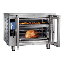 Alto-Shaam VMC-F3E Vector Series Multi-Cook Oven, Electric, (3) individually controlled chambers, programmable touch screen, Structured Air Technology, double pane glass door