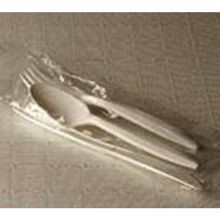 CUTLERY KIT BLACK K/F/S HEAVY PS (500) USE 10045682