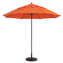 Grosfillex 98801931 Windmaster Umbrella, 9 ft., round top, 1-1/2