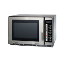 Amana RFS18TS Amana Commercial Microwave Oven, 1.2 Cu. Ft., 1800 Watts, Medium Volume, 4-Stage Cooking, (5) Power Levels, (100) Memory Settings