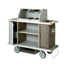 Metro LXHK4-PRO Lodgix Pro Housekeeping Cart, 60