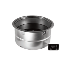 CookTek 663801 (IDW650L) SinAqua Induction Hot Food Well, drop-in, round, 14-3/4