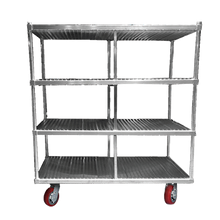 Channel FTDR-4 Tray Drying Rack, mobile, 63