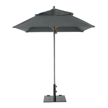 Grosfillex 98660231 Windmaster Umbrella, 6-1/2 ft., square top, 1-1/2