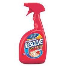 CARPET CLEANER RESOLVE SPOT & STAIN RTU 12/32 OZ