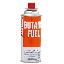 FUEL BUTANE CANISTER WITH RIM VENT RELEASE 8 OZ 12EA/CS